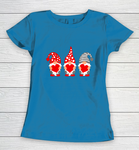 Gnomes Hearts Valentine Day Shirts For Couple Women's T-Shirt 6