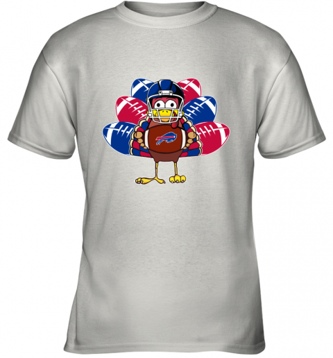 Buffalo Bills  Thanksgiving Turkey Football NFL Youth T-Shirt