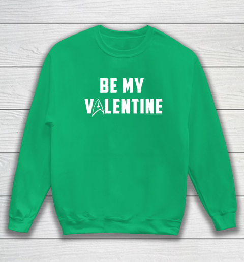 Star Trek Be My Valentine Delta Badge Graphic Sweatshirt 5