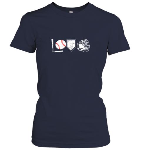 yflq i love baseball baseball heart ladies t shirt 20 front navy