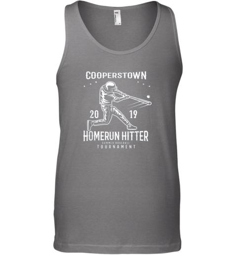 ixo1 cooperstown home run hitter unisex tank 17 front graphite heather