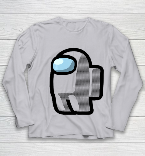 Imposter Among Gamer Us Impostor Sus Youth Long Sleeve 3