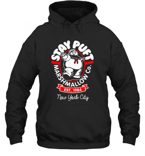 Stay Puft Marshmallow New York City Hoodie
