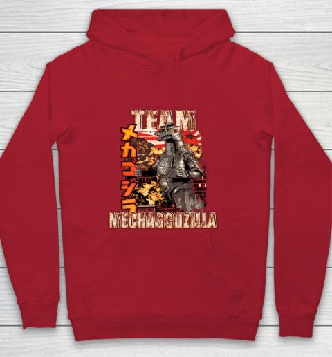 Team Mechagodzilla Japan Vintage Style Youth Hoodie 7