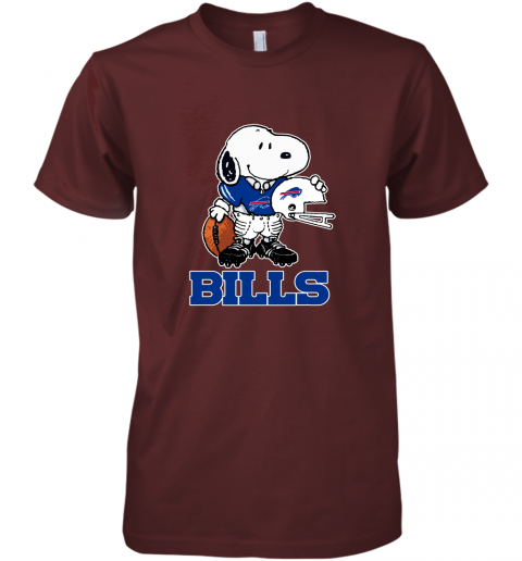 Snoopy A Strong And Proud Buffalo Bills Player NFL Premium Men's T-Shirt
