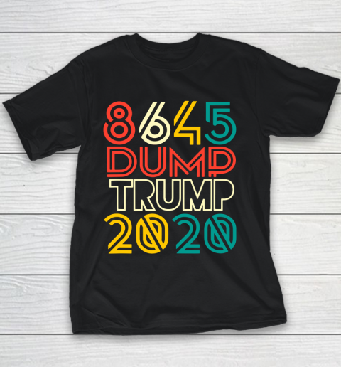 Dump Trump 8645 Anti Trump 2020 Youth T-Shirt