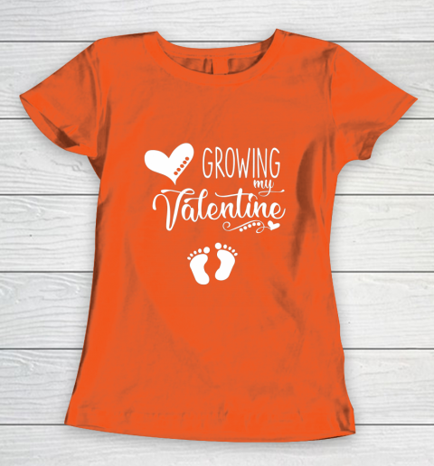 Growing my Valentine Tshirt for Wife Women's T-Shirt 3