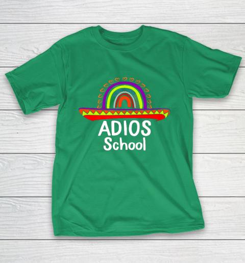 Adios School Happy Last Day Of School 2021 Teacher Mexican T-Shirt 5