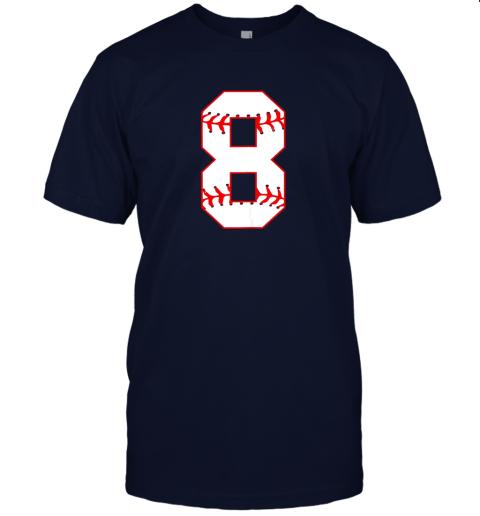 sl1c cute eighth birthday party 8th baseball shirt born 2011 jersey t shirt 60 front navy