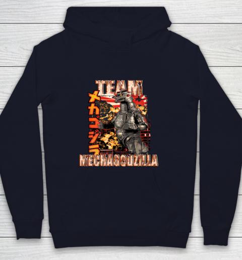 Team Mechagodzilla Japan Vintage Style Youth Hoodie 2