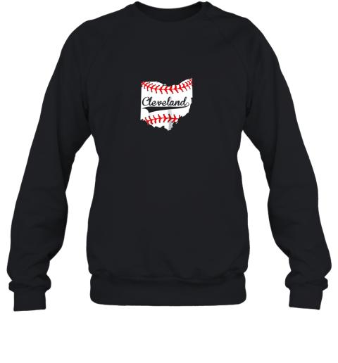 Cleveland Ohio 216 Baseball Sweatshirt