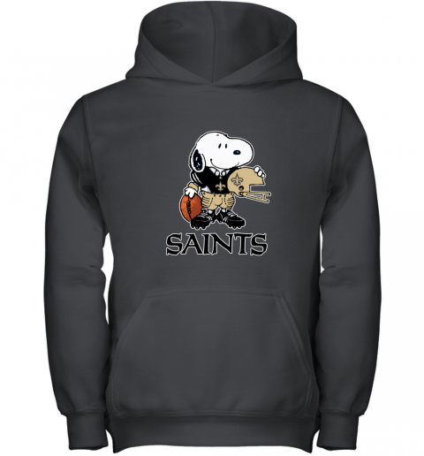 Snoopy A Strong And Proud New Orleans Saints NFL Youth Hoodie