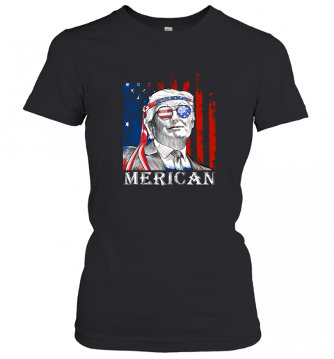 yl3e merica donald trump 4th of july american flag shirts ladies t shirt 20 front black