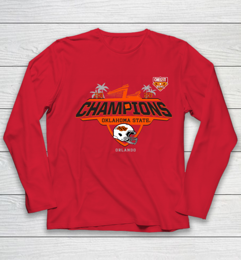 2020 Champions Oklahome State Orlando Youth Long Sleeve 8