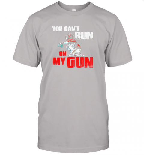 cwls you cant run on my gun shirt baseball jersey t shirt 60 front ash