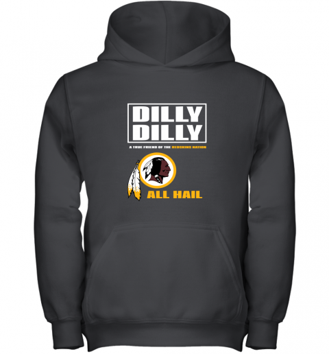 A True Friend Of The Redskins Youth Hoodie