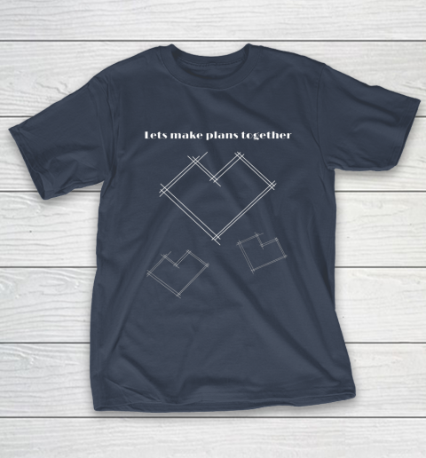 Valentine Architect T Shirt Heart Architecture Student T-Shirt 3