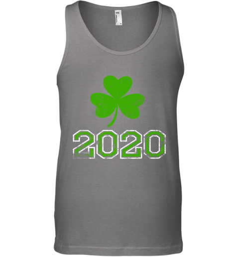 2020 Distressed Green Four Leaf Irish St Patty's Day Lover