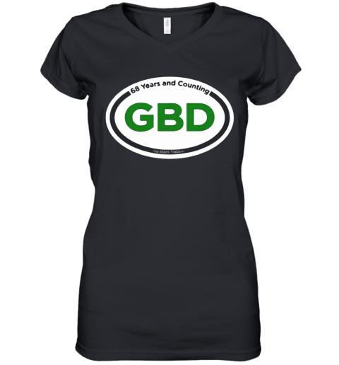 Green Beer Day Women's V-Neck T-Shirt