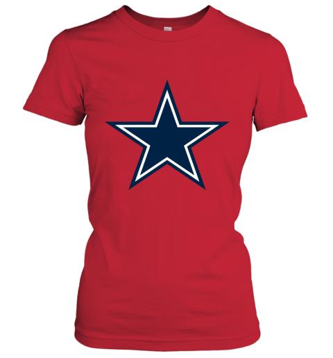 Dallas Cowboys NFL Pro Line by Fanatics Branded Gray Victory Women's T-Shirt