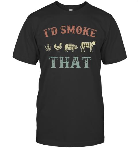 Cannabis I'd Smoke That T-Shirt