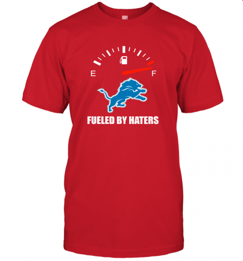 lzld fueled by haters maximum fuel detroit lions jersey t shirt 60 front red