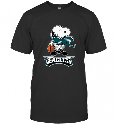 Snoopy A Strong And Proud Philadelphia Eagles NFL T-Shirt