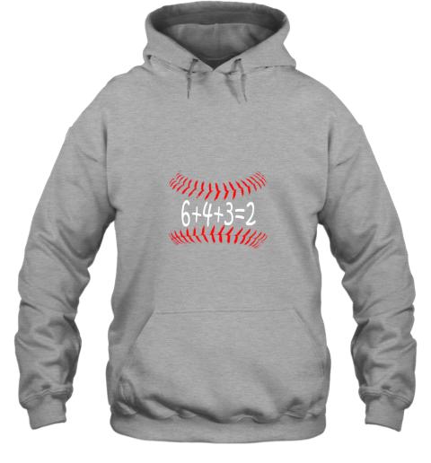 ks8d funny baseball 6432 double play shirt i gift 6 4 32 math hoodie 23 front sport grey