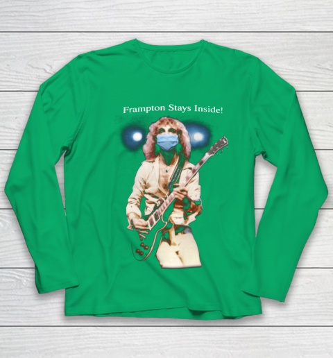Peter Frampton Covid Stays Inside Youth Long Sleeve 4