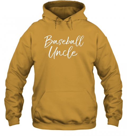 w8r2 baseball uncle shirt for men cool baseball uncle hoodie 23 front gold