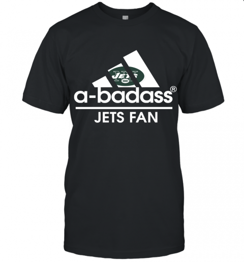 A Badass New York Jets Mashup Adidas NFL Unisex Jersey Tee