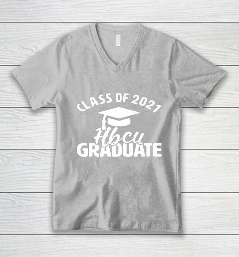 HBCU Alumni Apparel Class Of 2021 HBCU Grad V-Neck T-Shirt 3