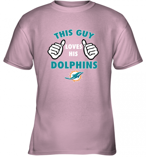z5rs this guy loves his miami dolphins youth t shirt 26 front light pink
