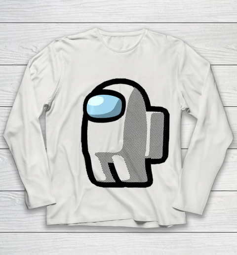 Imposter Among Gamer Us Impostor Sus Youth Long Sleeve 8