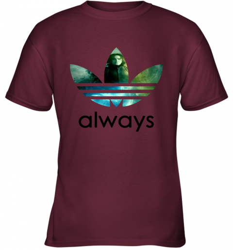 rr4f adidas severus snape always harry potter shirts youth t shirt 26 front maroon