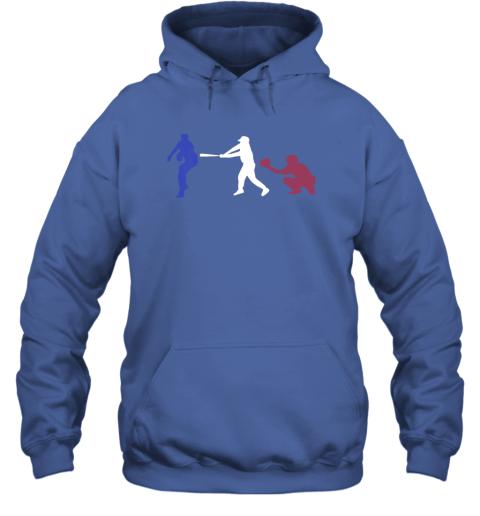 l4hn baseball usa flag american tradition spirit hoodie 23 front royal