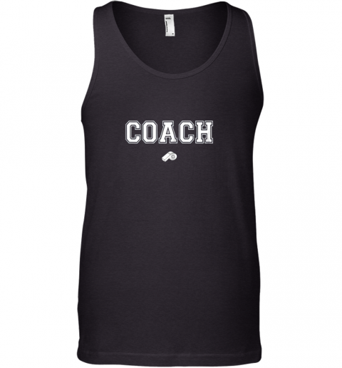 Coach Whistle Shirt Coaching Instructor Trainer Jersey Tank Top