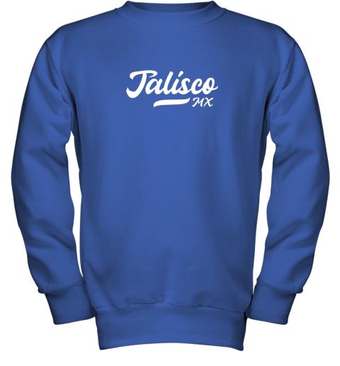 wckj tighe39 s jalisco mx mexico baseball jersey style youth sweatshirt 47 front royal