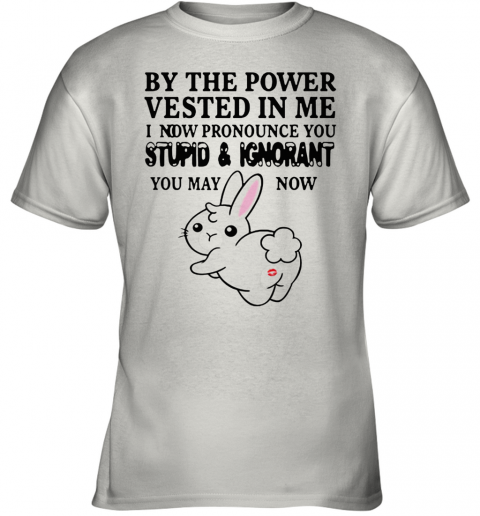 The Power Vested In Me I Now Pronounce You Stupid And Ignorant Youth T-Shirt