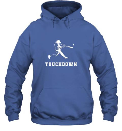 ijxl touchdown baseball shirtfunny sarcastic novelty hoodie 23 front royal