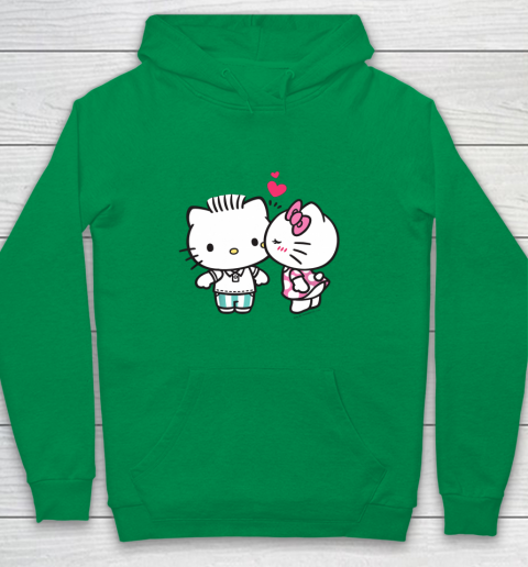 Hello Kitty and Dear Daniel Valentine Tee Youth Hoodie 4