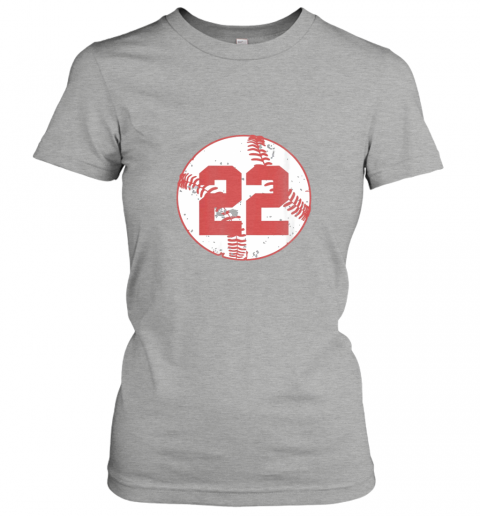 sfau womens vintage baseball number 22 shirt cool softball mom gift ladies t shirt 20 front ash