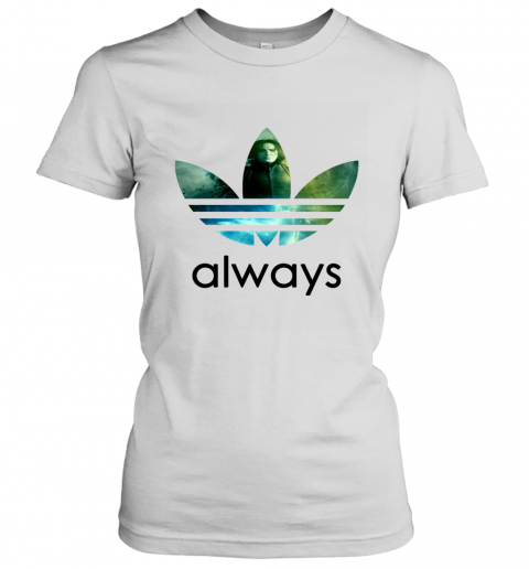 x4vk adidas severus snape always harry potter shirts ladies t shirt 20 front white