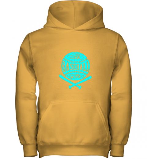 9k9d talk baseball to me groovy ball bat silhouette youth hoodie 43 front gold