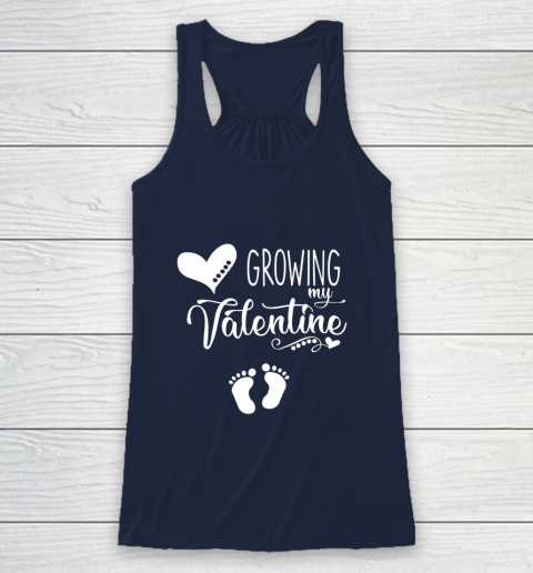 Growing my Valentine Tshirt for Wife Racerback Tank 8