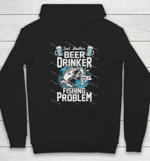 Beer Lover Funny Shirt Fishing ANd Beer Hoodie 1