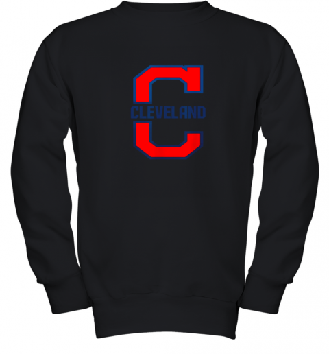 Cleveland Hometown Indian Tribe Vintage Youth Sweatshirt