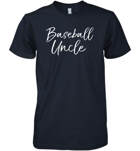 f7z7 baseball uncle shirt for men cool baseball uncle premium guys tee 5 front midnight navy