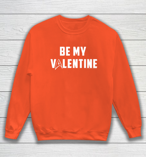 Star Trek Be My Valentine Delta Badge Graphic Sweatshirt 3