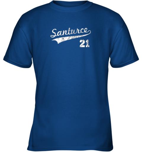 karl vintage distressed santurce 21 puerto rico baseball youth t shirt 26 front royal